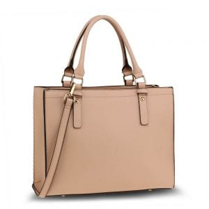 AG00646 - Nude Anna Grace Fashion Tote Bag