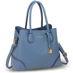 AG00648 - Blue Anna Grace Fashion Tote Bag