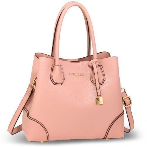 AG00648 - Pink Anna Grace Fashion Tote Bag