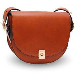 AG00658 - Brown Cross Body Shoulder Bag
