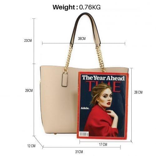 AG00664 - Nude Women Fashion Tote Bag
