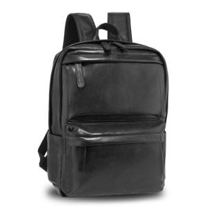 AG00676 - Black Unisex Backpack School Bag