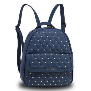 AG00712 - Navy Fashion Backpack School Bag