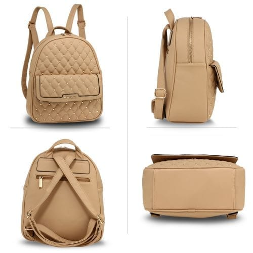 AG00712 - Nude Fashion Backpack School Bag