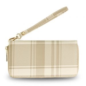 AGP5010 - Nude Women's Zip Around Purse / Wallet
